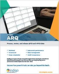 ARQ Flyer Cover Art